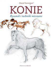 Konie. Rysunek i techniki mieszane