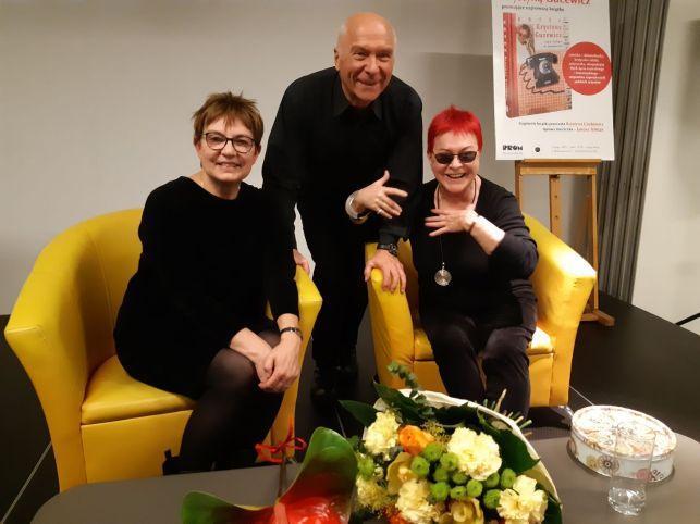 Krystyna Czubówna, Krystyna Gucewicz i Janusz Tylman