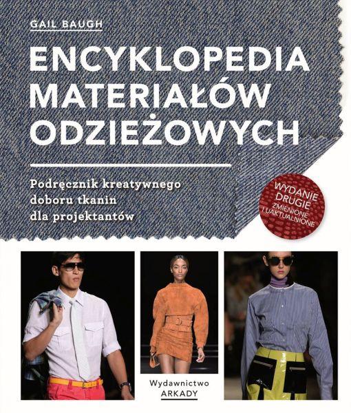 okładka Encyklopedia materiałów odzieżowych